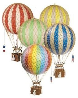 hot air balloon large nursery decor chicago by. Black Bedroom Furniture Sets. Home Design Ideas