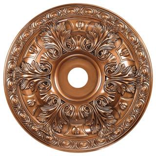 pennington medium decorative medallion in antique bronze victorian