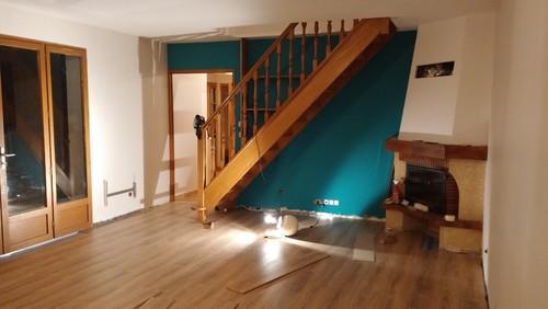 Quelle couleur pour notre escalier for Quelle peinture pour escalier