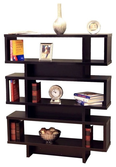 Tier Display Cabinet/Bookcase - Modern - Bookcases - by Megahome