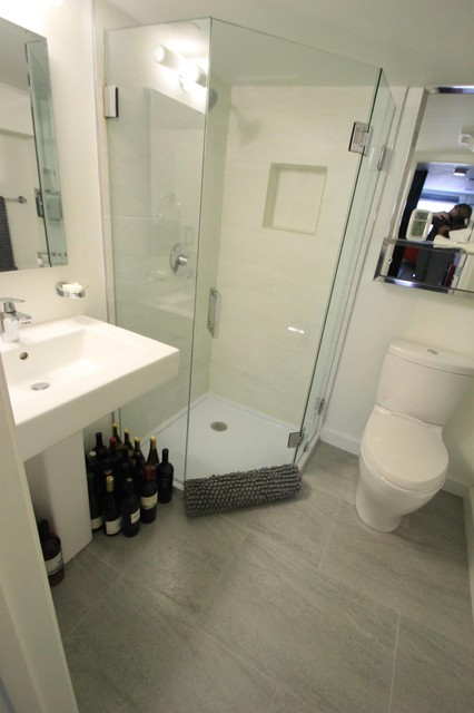 Private residence alexandria va bathroom by porcelanosa for Bathroom showrooms alexandria