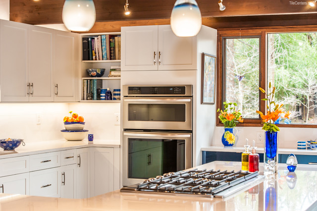 Contemporary kitchen james creek ct for Houzz cocinas