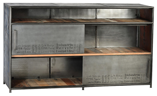 albany sideboard stainless steel industrial buffets and sideboards