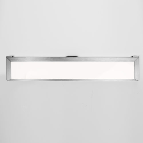Line Brushed Aluminum 24-Inch LED Undercabinet Light 3000K