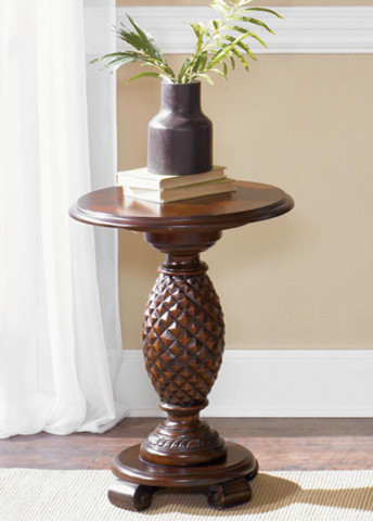 Chair Side Pineapple Accent Table