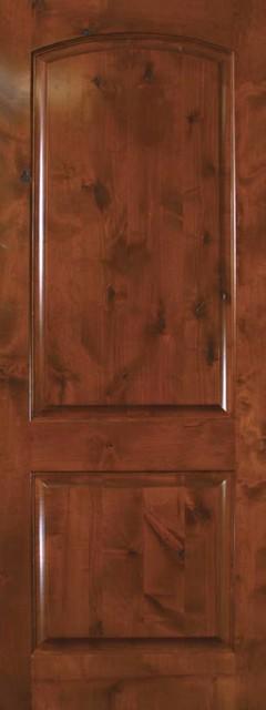 Prehung House Interior Single Door 96 Knotty Alder 2 Panel Solid Rustic Front Doors Tampa
