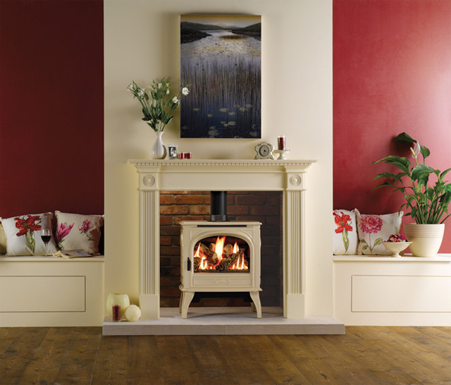 ceramic tile for a fireplace