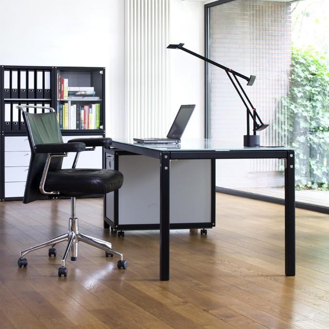 Fl totto profilsystem schreibtisch modern desks for Schreibtisch organisation
