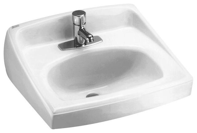 Lucerne Wall-Mount Bathroom Sink for Exposed Bracket ...