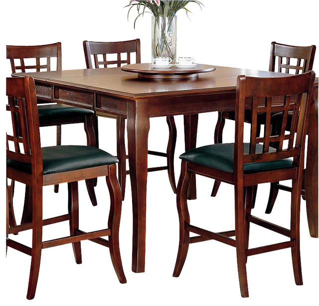Coaster Newhouse Square Counter Height Dining Table With