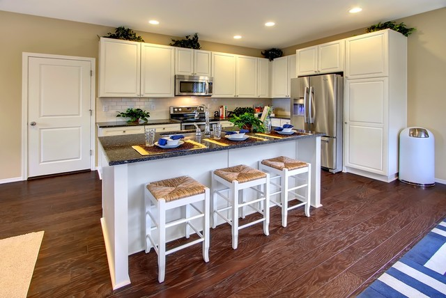 Campus Willows Transitional Kitchen Seattle By Quadrant Homes