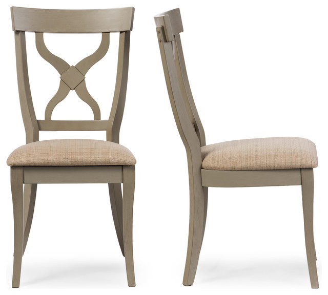 balmoral oak x back dining side chairs set of 2
