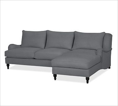 Carlisle Upholstered Left 2 Piece Sectional With Chaise