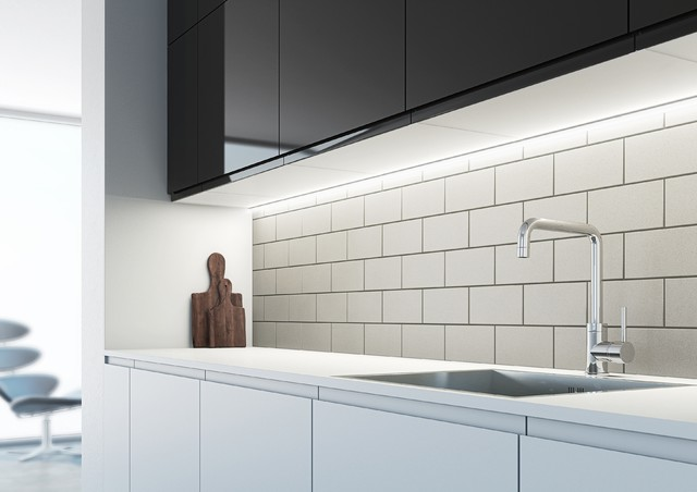 Arrow diffused LED under cabinet strip light - Contemporary - Undercabinet Lighting - by Sensio ...