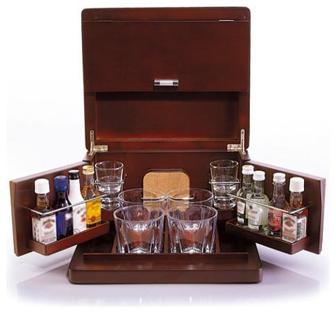 brookstone mini bar portable tabletop bar and accessories. Black Bedroom Furniture Sets. Home Design Ideas