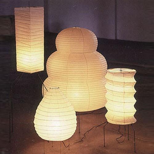 Noguchi 20n Table Lamp By Akari Lamps Modern Floor