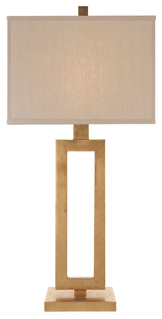 Tall Mod Table Lamp Gild contemporary table lamps