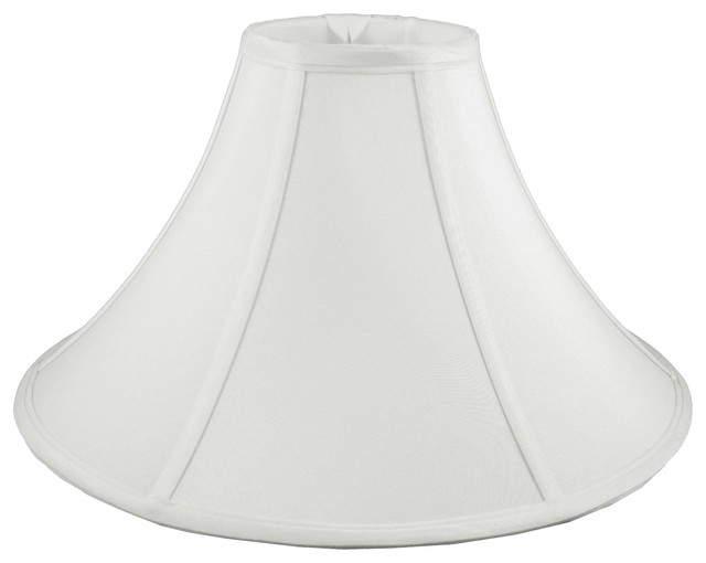 round coolie bell shaped white lampshade lamp shades by. Black Bedroom Furniture Sets. Home Design Ideas