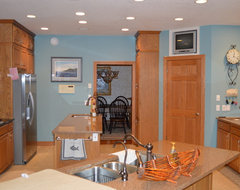 Kitchen Paint Colors With Golden Oak Cabinets