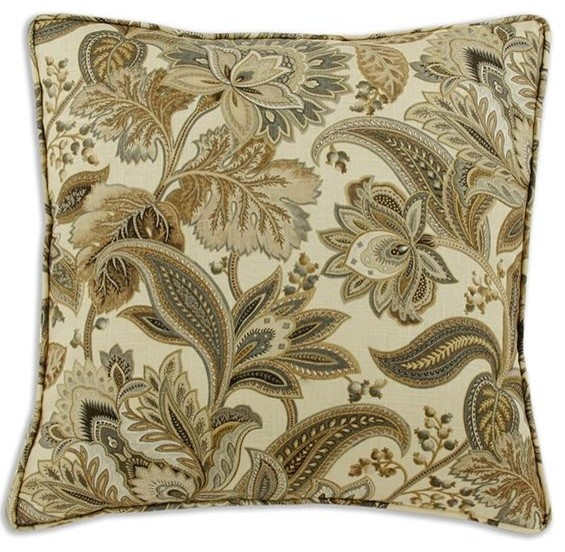 Custom Corded Box Pillow - Traditional - Decorative Pillows