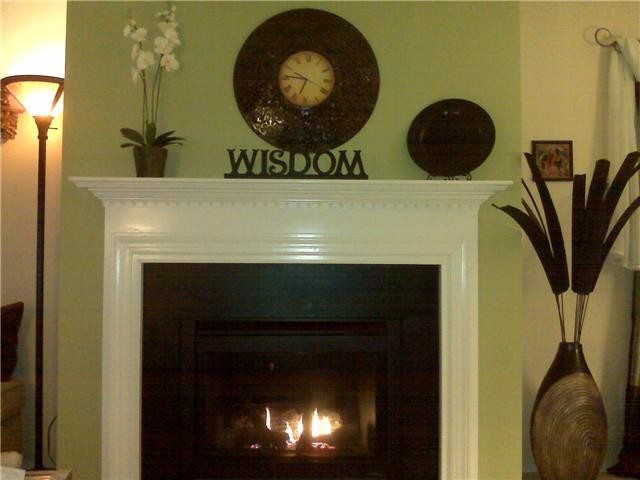 Fireplace Accent Wall Traditional Living Room