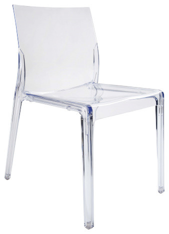 Mamamia chaise en polycarbonate modern dining chairs by habitat officiel - Chaise polycarbonate transparente ...