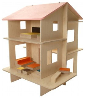 Dollhouse, Rayray - Modern - Kids Toys And Games - by Modern Lola