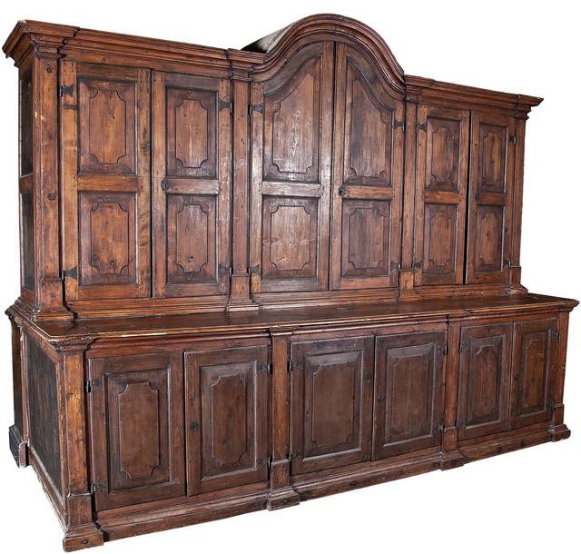 Consigned, Antique Spanish Colonial Massive Cabinet C ...