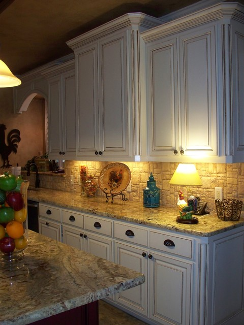 with cabinets to sprayer glaze a kitchen how