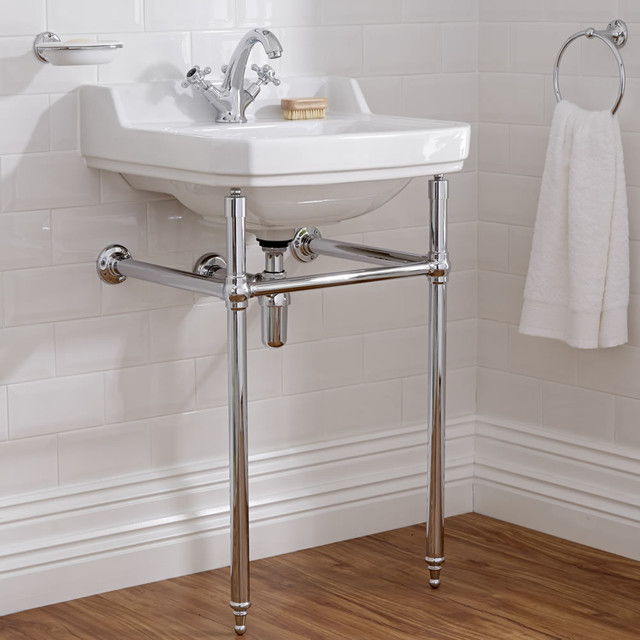 Old London Richmond Basin And Washstand Traditional