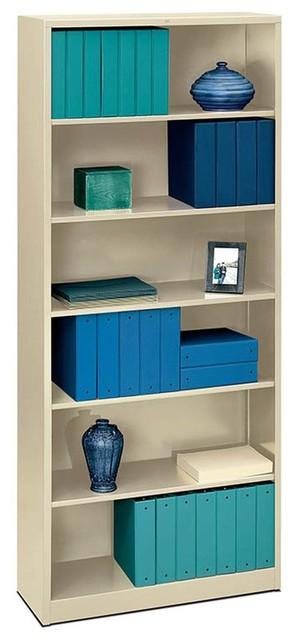 HON Brigade Steel Bookcase - Contemporary - Filing ...