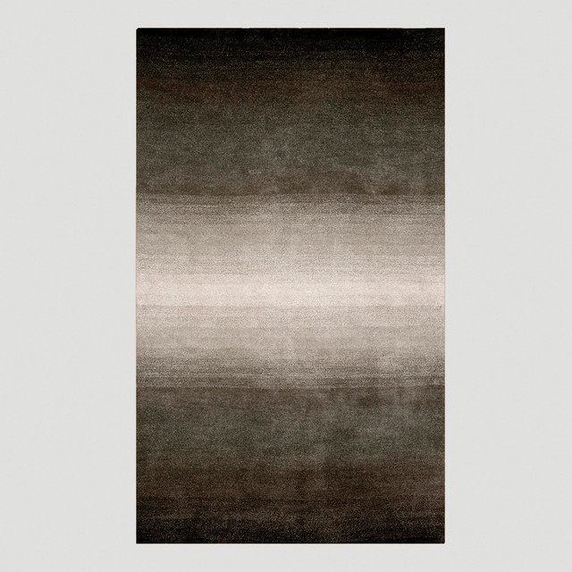 Ombr 233 Stripes Rug Gray Contemporary Rugs By Cost