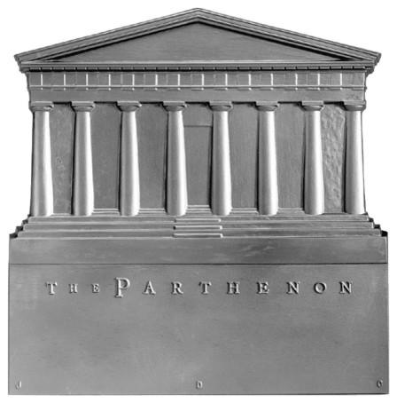 17 X18 Parthenon Fireback Modern Fireplace Accessories By Shop Chimney
