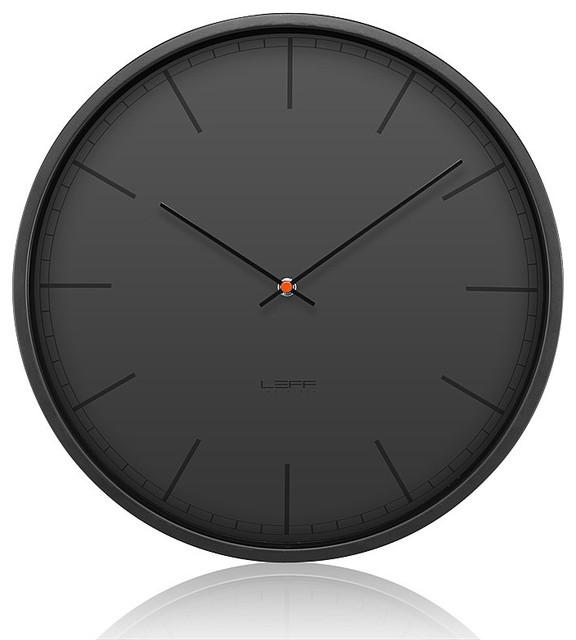 Leff wall clock tone black Modern Clocks by top3 by