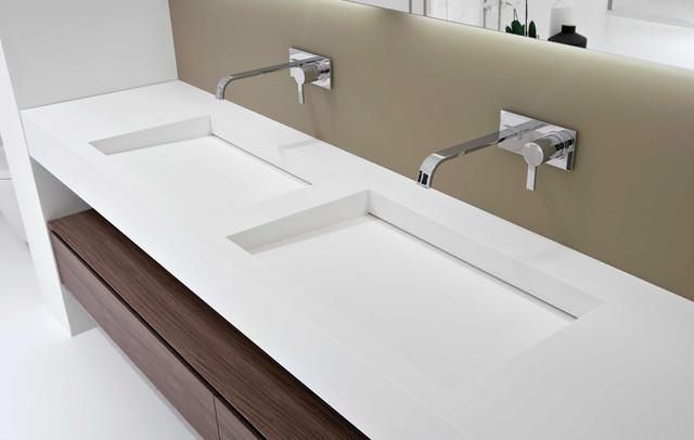 Myslot Integrated Sink Modern Bathroom Sinks Miami By Antoniolupi Miami