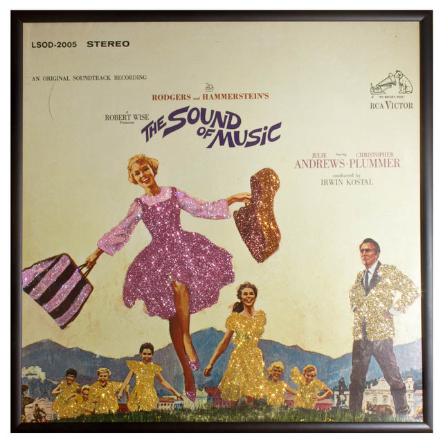 Glittered Sound of Music Album - Eclectic - Artwork - by mmm designs