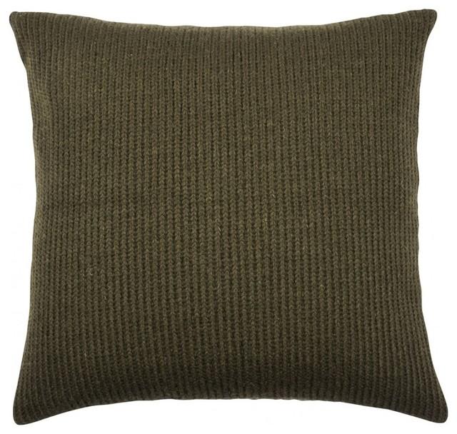 kissen troje 45x45 cm gr n synthetikf llung bauhaus. Black Bedroom Furniture Sets. Home Design Ideas