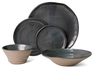 JS 157 Stoneware Tableware Sets Rustic Dinnerware By J