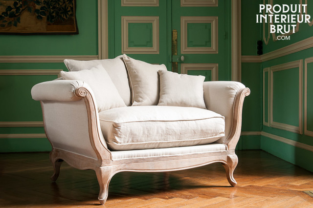 Boho shabby chic shabby chic style armchairs accent for Poltrone country chic