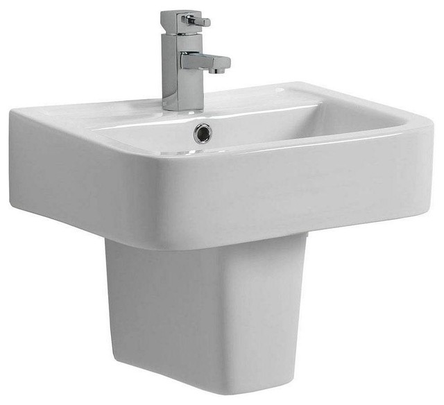 Small Pedestal Basin : Montreal Basin & Semi Pedestal Small - Contemporary - Bathroom Sinks ...
