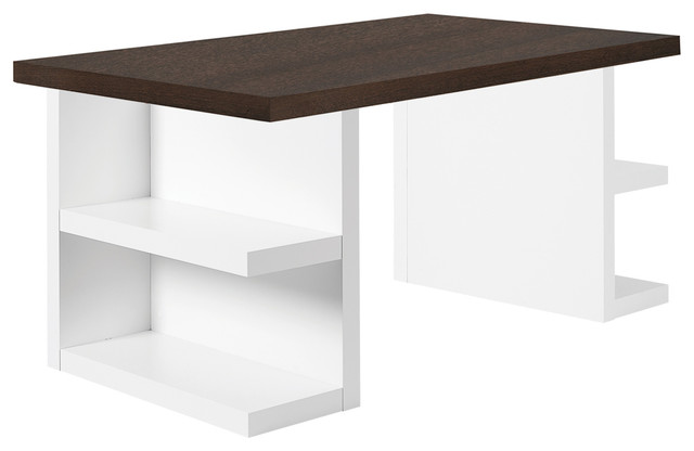 Temahome Multi Table Top Storage Legs Chocolate 63In  : modern dining tables from houzz.com.au size 640 x 416 jpeg 25kB
