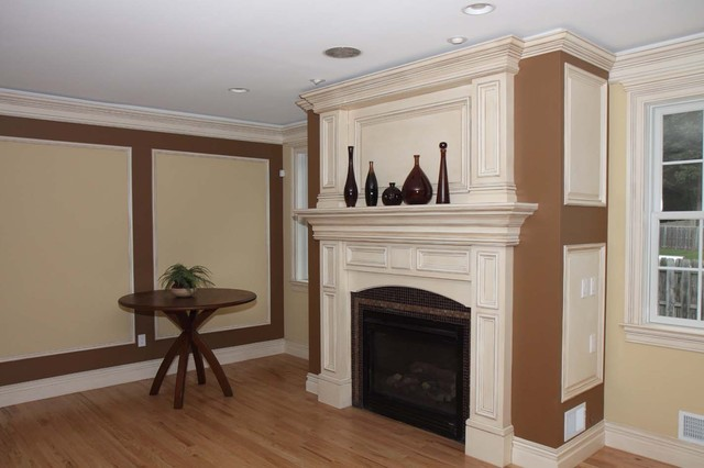 Custom Fireplace Mantles Build ins New York By Trim Team NJ