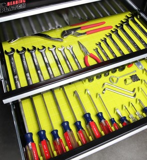 Tool Drawer Organizing System and Liner - Lime - Kitchen Drawer ...