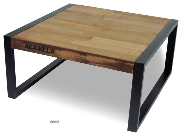 Table basse collection design industriel industriel for Table design industriel