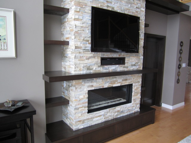 Leonard Wall Unit - Contemporary - Family Room - toronto ...