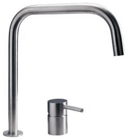 Mgs F2 Sq Kitchen Faucet Stainless Steel Modern Bathroom Faucets And Showerheads By Ybath