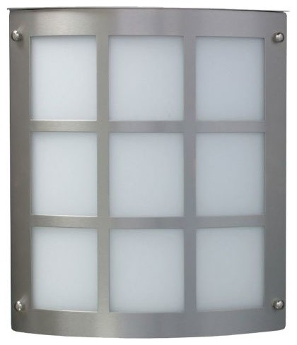 Indoor Plant Wall Sconces : Grid 104/106/108 Indoor/Outdoor Wall Sconce by Besa Lighting - Modern - Indoor Pots And Planters ...