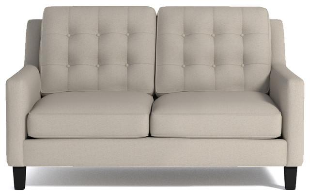 Elysian apartment size sofa woven beach retro sof s de - Sofas de dos plazas ...