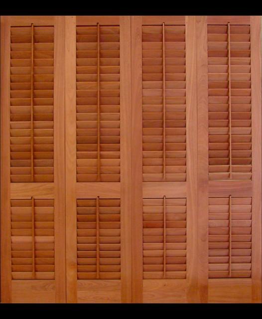 Louvered Doors - Tropical - Interior Doors - philadelphia - by Kestrel Shutters & Doors