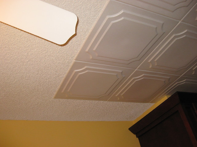 Polystyrene Decorative Paintable Ceiling Tiles